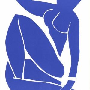 Henri Matisse Lithograph Blue Nude 3, 1984