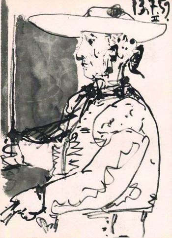 Pablo Picasso Toros y Toreros 2 dated 13/7/59