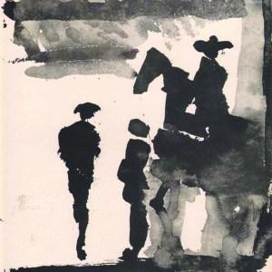 Pablo Picasso Toros y Toreros 7 dated 5/7/59