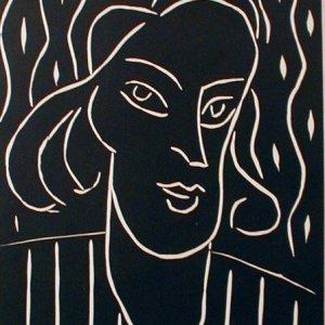 Henri Matisse Linocut, Revue XX Siecle 1970