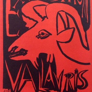 Picasso Lithograph 68, Expo 1952, Art in posters