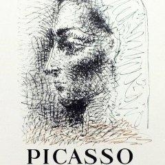 """Picasso 82 """"un demi siecle de livres illustres"""" printed 1959 by Mourlot"""