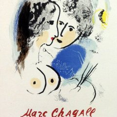 "Chagall 26 ""Chagall oeuvre grave"" Art in posters - Mourlot 1959"