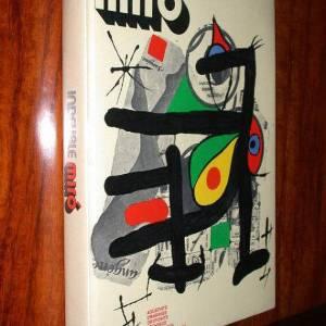 Book, Miro Indelible 1972, Taillandier, Contains 3 Original Lithographs
