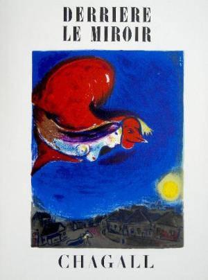 Book Derriere le Miroir 27, 1950, Chagall 2 lithographs