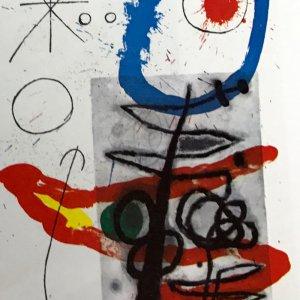 Joan Miro Original Lithograph DM09151, DLM 1970