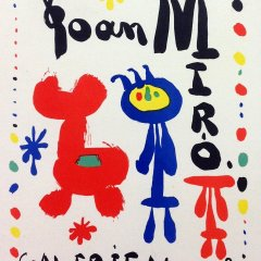 """Miro 49 """"Maeght Gallery 1949"""" Art in posters 1959"""
