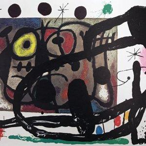 Joan Miro Original Lithograph DM13151d DLM 1970