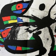 "Miro Original Lithograph ""DM02231"" size 22 x 15"" 1978"