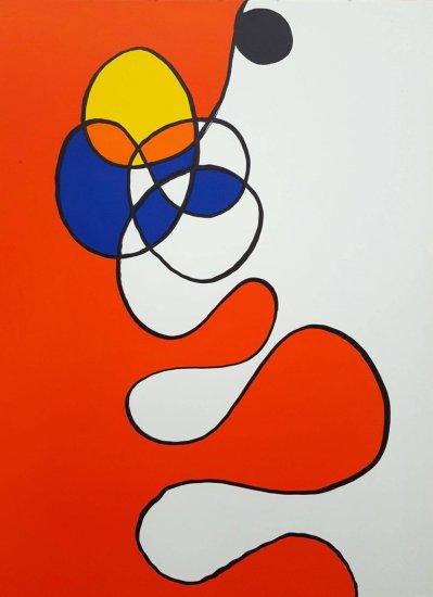 Alexander Calder, Original Lithograph, DM53173, Derriere le Miroir 1968h 1968