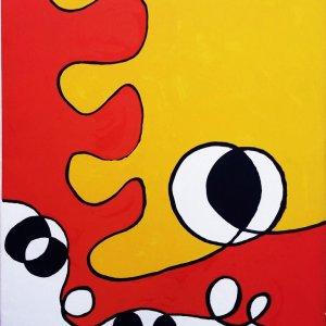 Calder, Original Lithograph, DM50173, Derriere le Miroir 1968