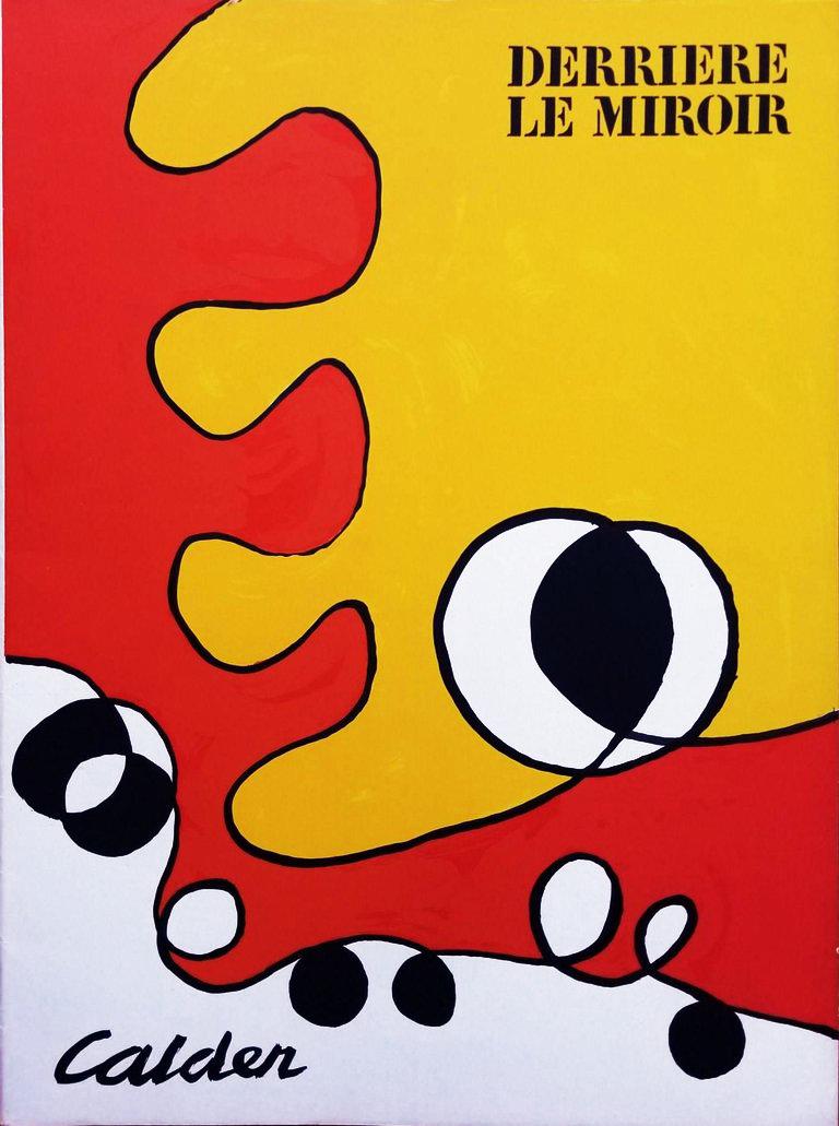 Alexander Calder, Original Lithograph, DM50173, Derriere le miroir 1968