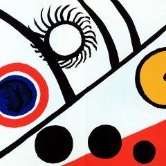 """Alexander Calder Original Lithograph""""DM27221″ 1976"""