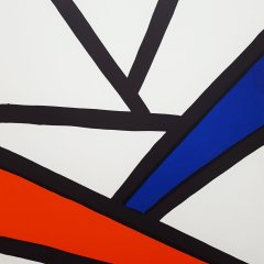 "Calder Original Lithograph ""DM 51173"" printed 1963"
