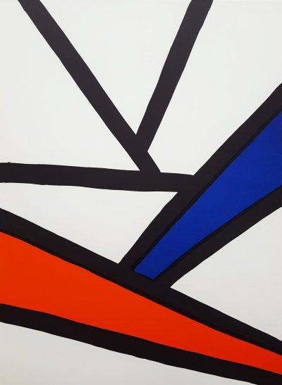 Alexander Calder, Original Lithograph 1963, DM51173, Derriere le Miroir 1963