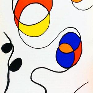 Calder, Original Lithograph, DM56173, Derriere le Miroir 1968