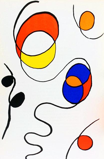 Alexander Calder, Original Lithograph, DM56173, Derriere le Miroir 1968