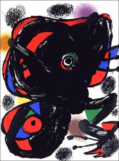 Miro Original Lithograph XX Siecle 1976