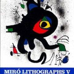 Book | Miro Lithographs Vol 5, Catalog Raisonee 1992, English text.