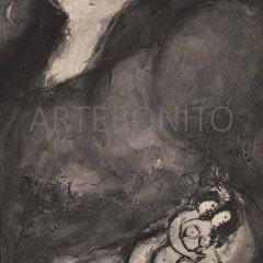 """Chagall """"Le Revenant"""" - Verve 1950"""