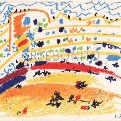 Picasso, Toros y toreros 2 dated 1/8/57