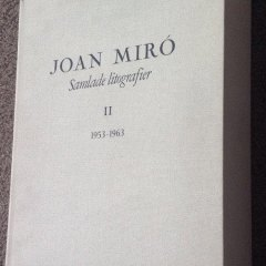 Book Deluxe Miro Lithographs Vol 2, Numbered 51 /150, contains 12 Original lithographs on wove paper