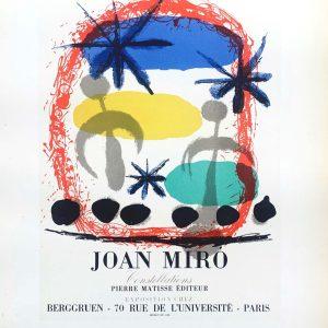 Miro lithograph, constellations