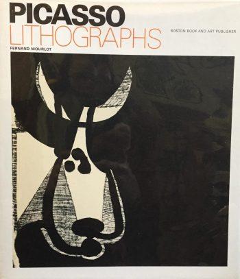 Book, Picasso Lithographs 1970, Catalog Raisonnee