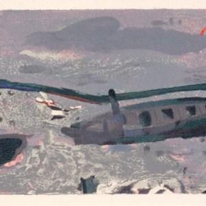 Braque Lithograph Bord de Mer, Varengeville 1968