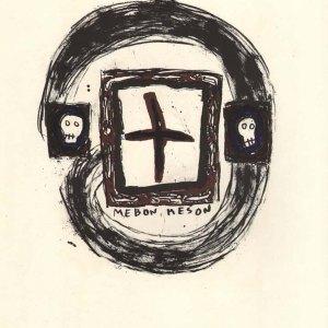 """Delprat Original Lithograph """"N6-3"""" printed 1988"""