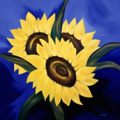 "Absi Grace, ""Sun flowers"""