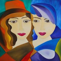 "Absi Grace ""La Mirada"" Oil on canvas"