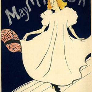 Lautrec Lithograph 18, May Milton 1966 Mourlot