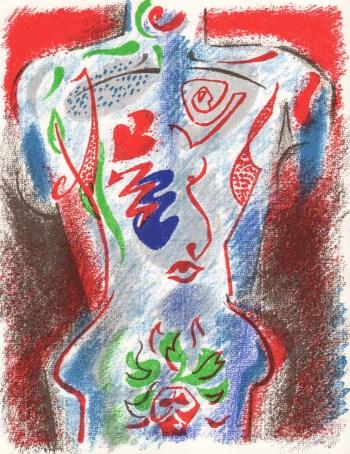 Masson Original Lithograph 1972 - XXeme Siecle