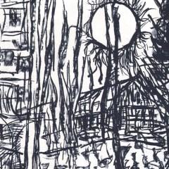 "Riopelle Jean-Paul Original Lithograph ""DM 12232"""
