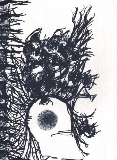 "Riopelle Jean-Paul Original Lithograph ""DM19232"""