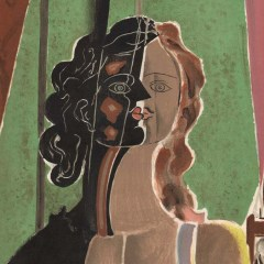 Braque figure from Review Verve