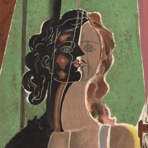Georges Lithograph Figure, Verve Revue 1939