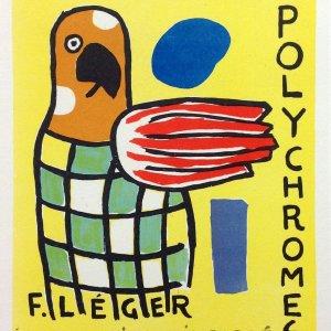 Fernand Leger Lithograph 33 Sculptures Polychromes