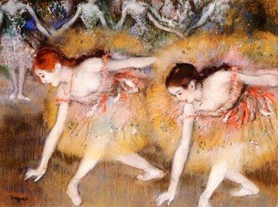 """Degas """"Danseuses se baissant"""" L. E & numbered Giclees"""