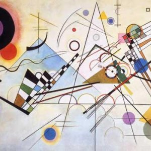 """Kandinsky """"Composition 8"""" L.E & numbered Giclee"""