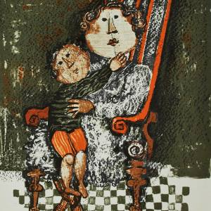 Graciela Boulanger Lithograph, Untitled 3