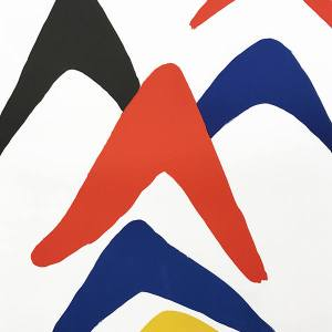 Calder, Poster Lithograph, Stabiles