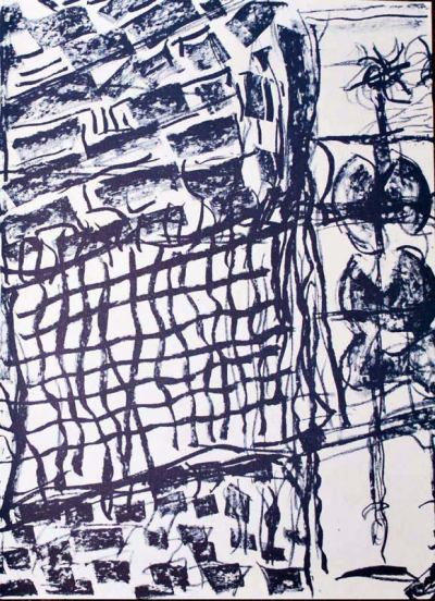 "Riopelle Jean-Paul Original Lithograph ""DM16232"""