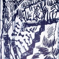 "Riopelle Jean-Paul Original Lithograph ""DM14232"""