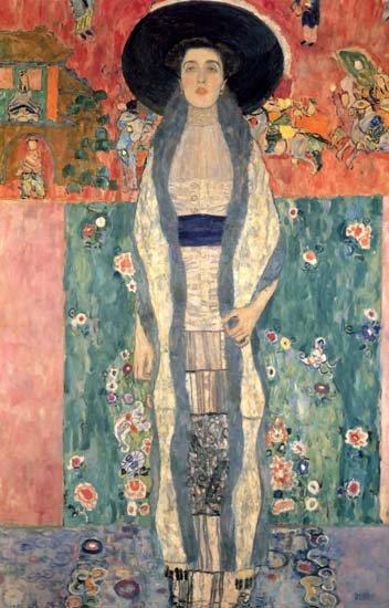 "Klimt ""Portrait of Adele 2"" L.E & numbered Giclee"