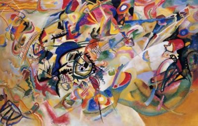 """Kandinsky """"Composition 7"""" L.E & numbered Giclee"""
