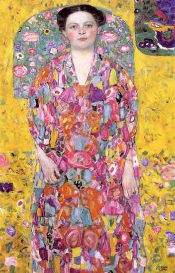 "Klimt ""Eugenia Primavesi"" L.E & numbered Giclee"