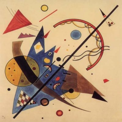 "Kandinsky ""Arch and point"" L.E & numbered Giclee"