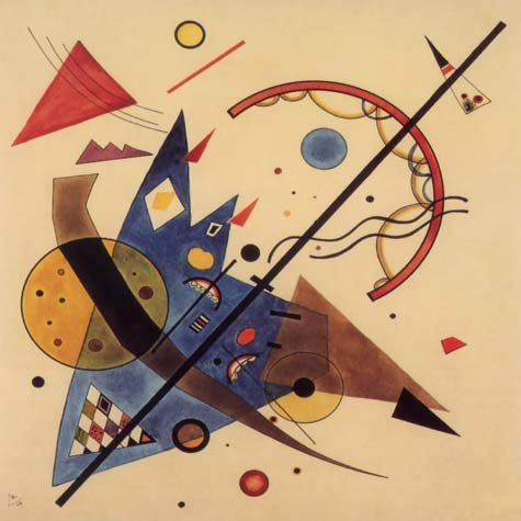 Wassily Kandinsky, Arch and point, Giclee Limited Edition